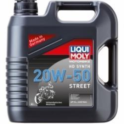 LIQUI MOLY Motorbike HD Synth Street 20W-50 4L
